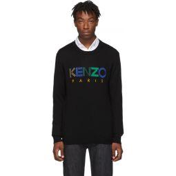 Black Wool Kenzo Paris Sweater