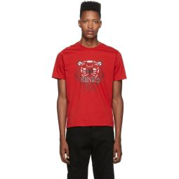 Red Classic Tiger T-Shirt