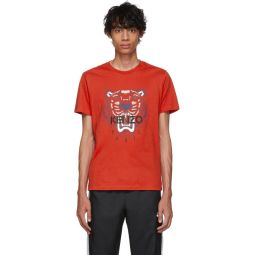 Red Limited Edition Tiger T-Shirt