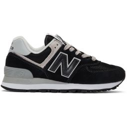 Black & White 574 Sneakers