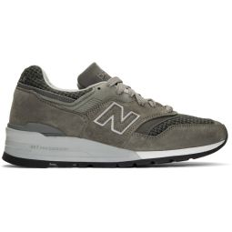 Grey US Made 990 Sneakers