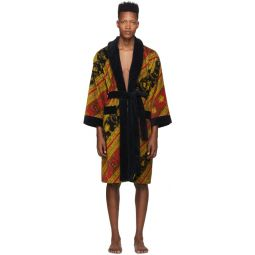 Red & Gold I Heart Baroque Robe