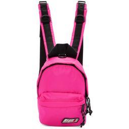 Pink Mini Logo Backpack