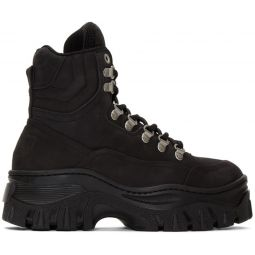 Black Tractor Sneakers