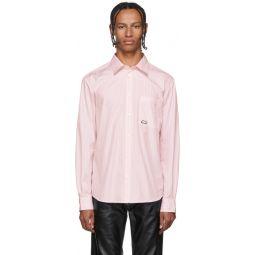 Pink Stripe Logo Shirt