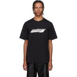 Black Upside Down Logo T-Shirt