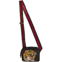 Black Tiger Messenger Bag