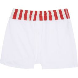 White & Red Sublig Boxers