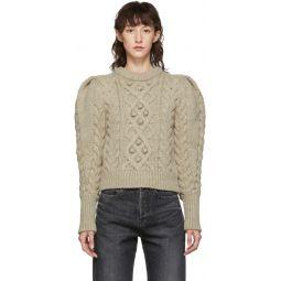 Beige Wool Milford Sweater