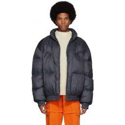 Black Down Erper Jacket