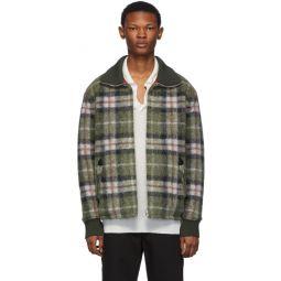 Reversible Green Plaid Geeno Jacket