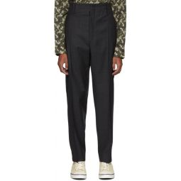 Black Pao Trousers
