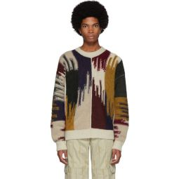 Multicolor Mohair Drake Sweater