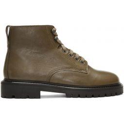 Khaki Camp Boots