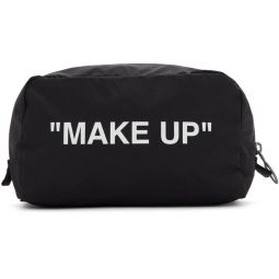 Black & White Make Up Pouch