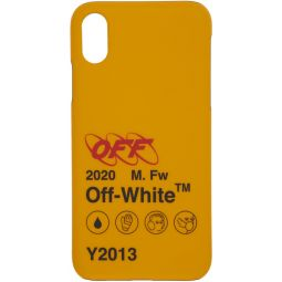 Yellow Industrial Y2013 iPhone X Case