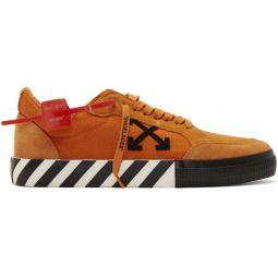 Orange Low Vulcanized Sneakers