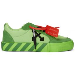 SSENSE Exclusive Green Low Vulcanized Sneaker