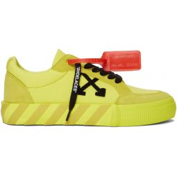 SSENSE Exclusive Yellow Low Vulcanized Sneaker