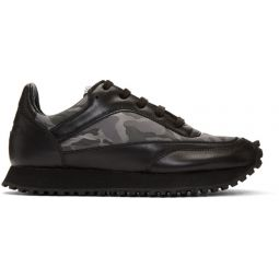 Black Spalwart Edition New Tempo Camo Sneakers