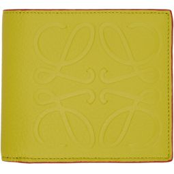 Yellow Anagram Bifold Wallet