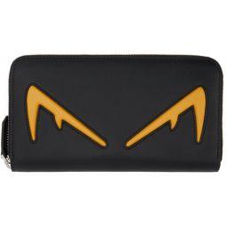 Black & Yellow Bag Bugs Continental Wallet