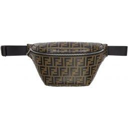 Black & Brown Forever Fendi Belt Bag