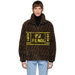 Brown Shearling Forever Fendi Jacket