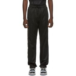 Black Forever Fendi Tape Lounge Pants