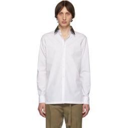 White Forever Fendi Collar Shirt
