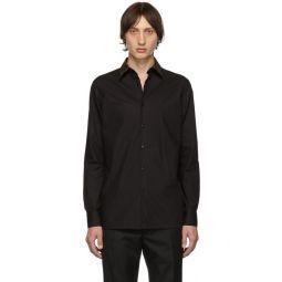 Black Forever Fendi Collar Shirt