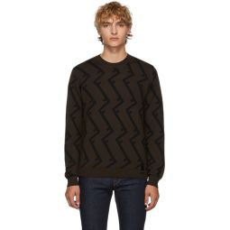 Brown Wool FF Root Sweater