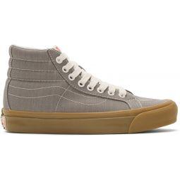 Grey Herringbone OG Sk8-Hi LX Sneakers