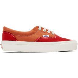 Red & Orange OG Era LX Sneakers