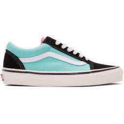 Black & Blue Anaheim Old Skool 36 DX Sneakers