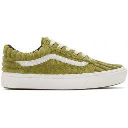 Green ComfyCush Old Skool Sneakers