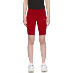 Red Cycling Shorts