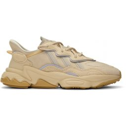 Beige Ozweego Sneakers