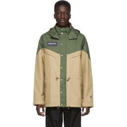 Green & Beige Spezial Belthorn Anorak Jacket