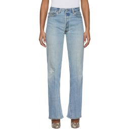 Indigo Levis Edition 70s Ultra High-Rise Bell Bottom Jeans