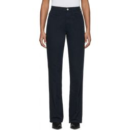Navy Denim 70s Bootcut Jeans