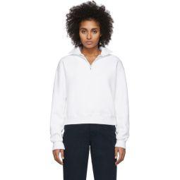 Off-White 70s Half-Zip Sweatshirt