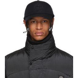 Black Wool Baseball Cap