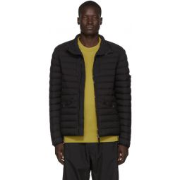 Black Real Down Puffer Jacket