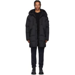 Black Down Puffer Coat