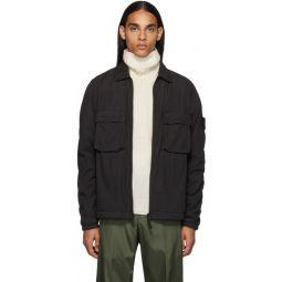Black Overshirt Jacket