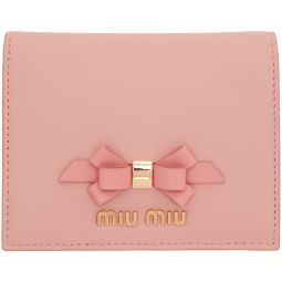 Pink Bow Bifold Wallet