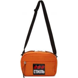 Orange Style Dots Camera Bag