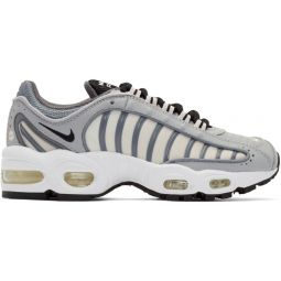 Grey & White Air Max Tailwind IV Sneakers