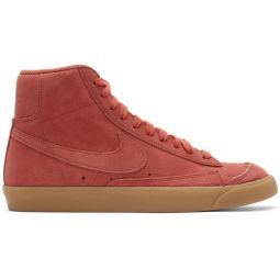 Red Suede Mid77 Sneakers